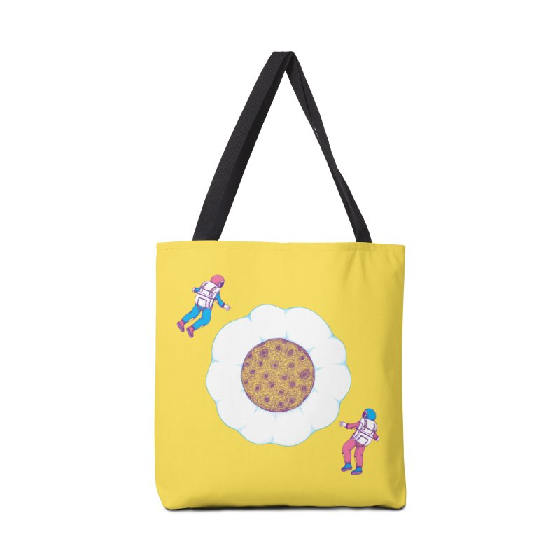 Moon Yolk Accessories Bag by Ranggasme's Artist Shop