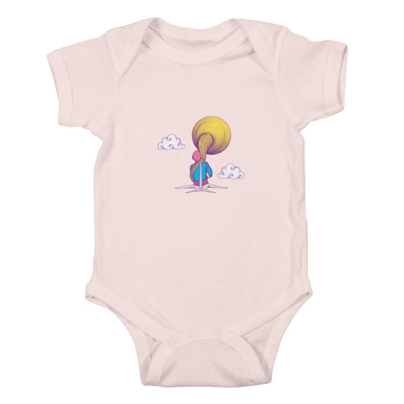 The Extraterrestrial Triumph Kids Baby Bodysuit by Ranggasme's Artist Shop