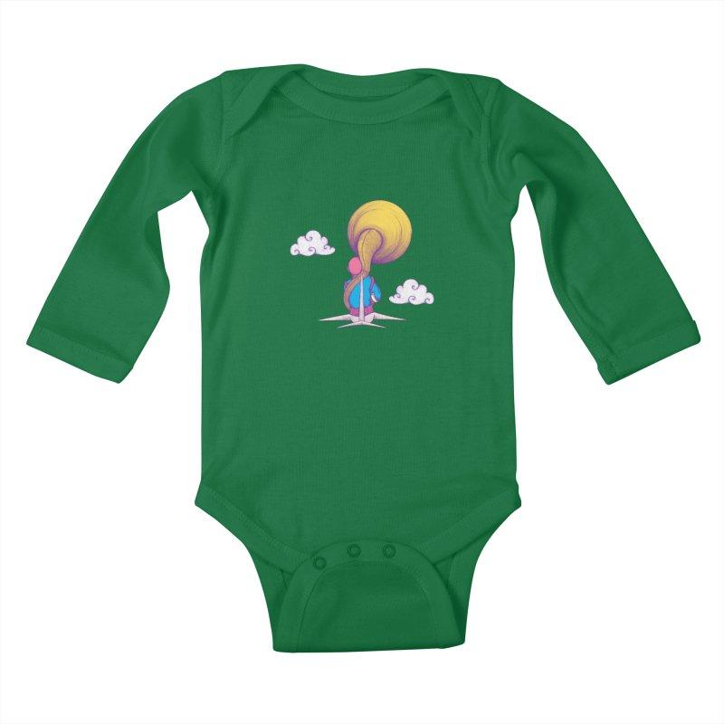 The Extraterrestrial Triumph Kids Baby Longsleeve Bodysuit by Ranggasme's Artist Shop