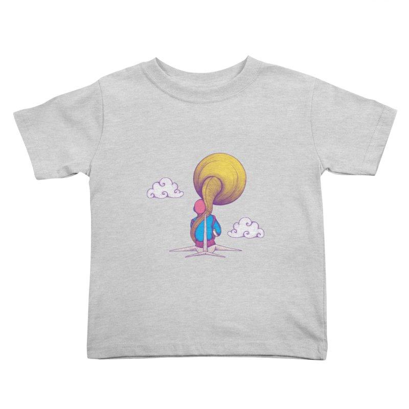 The Extraterrestrial Triumph Kids Toddler T-Shirt by Ranggasme's Artist Shop