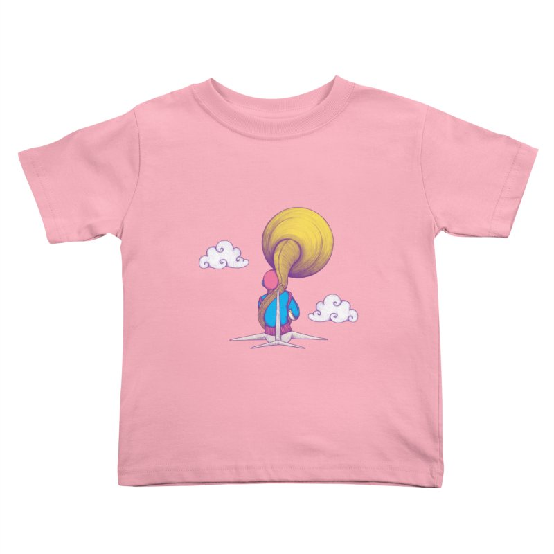 The Extraterrestrial Triumph Kids Toddler T-Shirt by Ranggasme's Artist Shop
