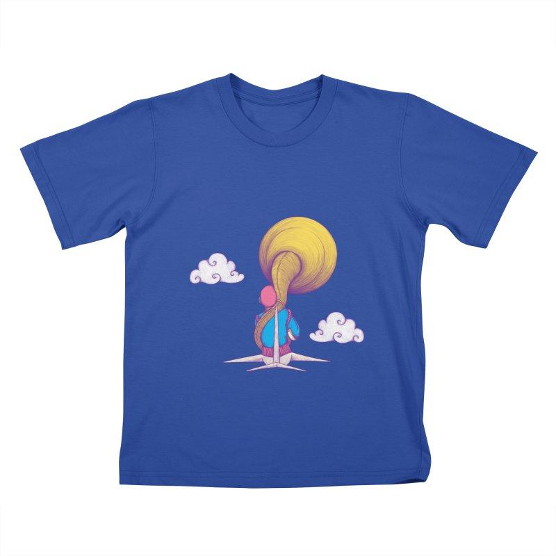 The Extraterrestrial Triumph Kids T-Shirt by Ranggasme's Artist Shop