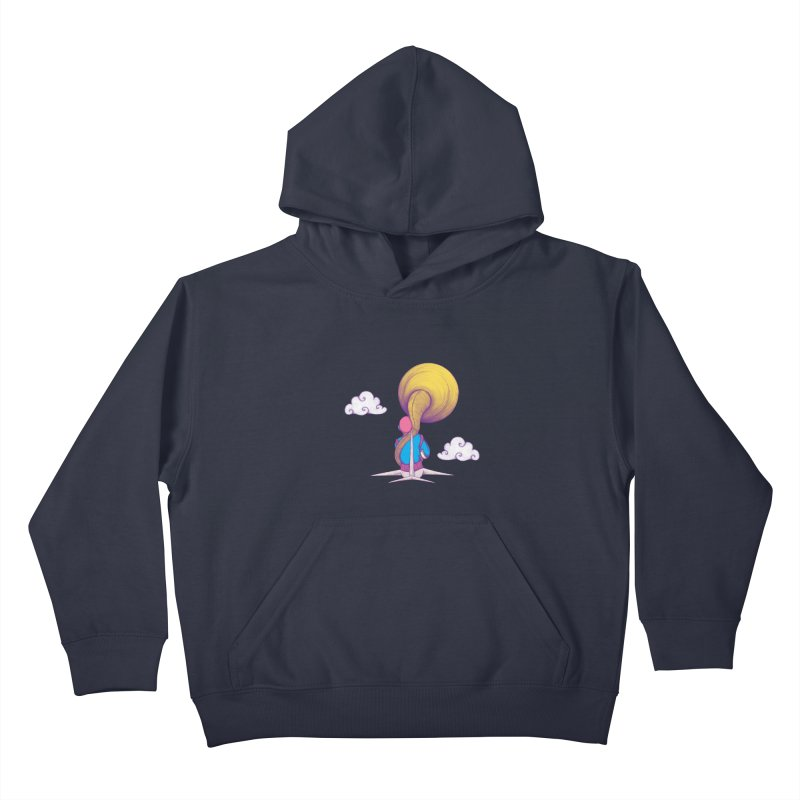 The Extraterrestrial Triumph Kids Pullover Hoody by Ranggasme's Artist Shop