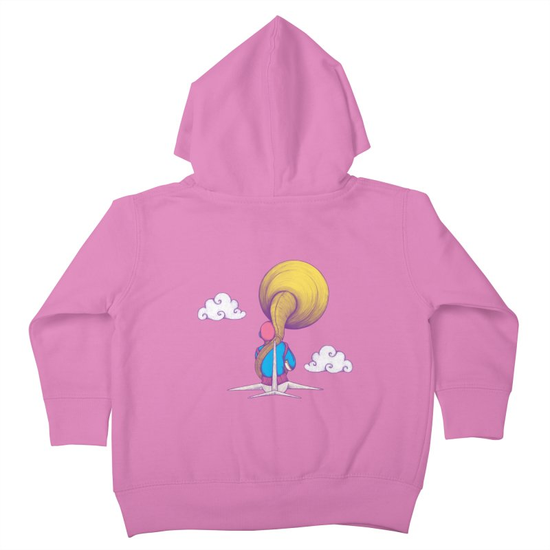 The Extraterrestrial Triumph Kids Toddler Zip-Up Hoody by Ranggasme's Artist Shop