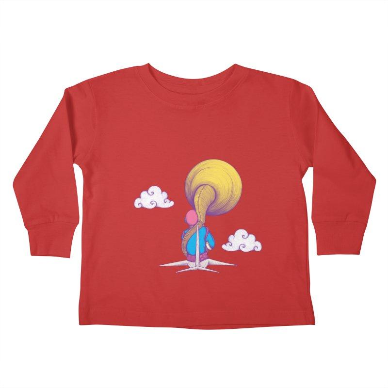 The Extraterrestrial Triumph Kids Toddler Longsleeve T-Shirt by Ranggasme's Artist Shop