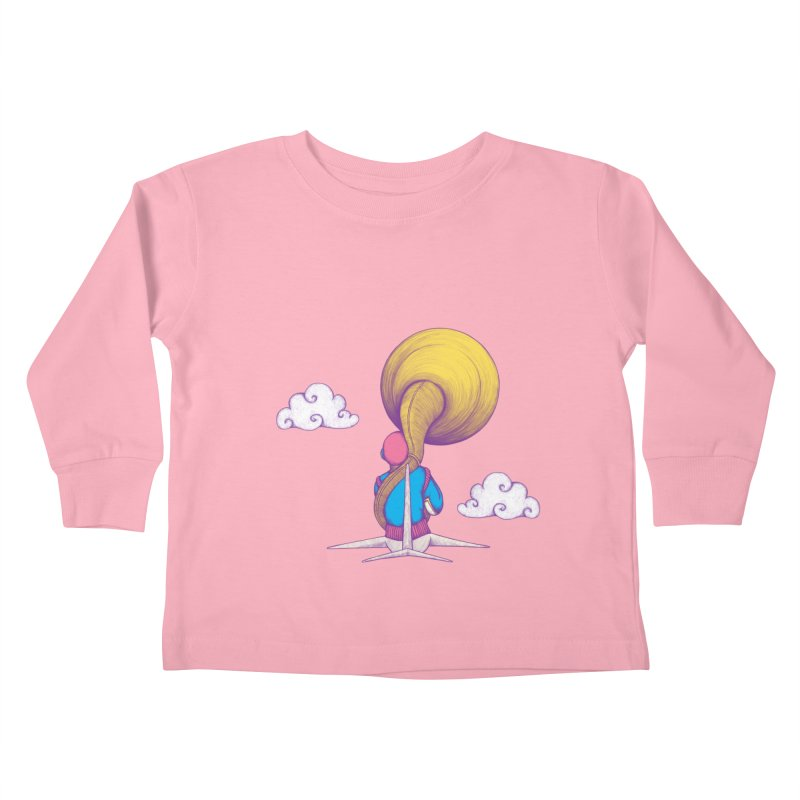 The Extraterrestrial Triumph Kids Toddler Longsleeve T-Shirt by Ranggasme's Artist Shop