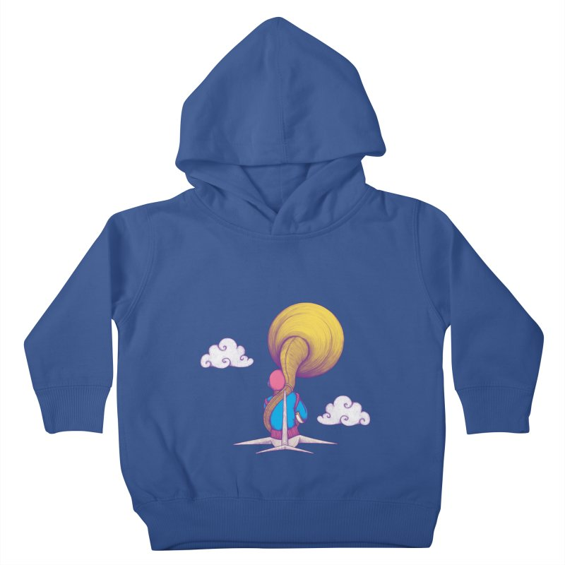 The Extraterrestrial Triumph Kids Toddler Pullover Hoody by Ranggasme's Artist Shop