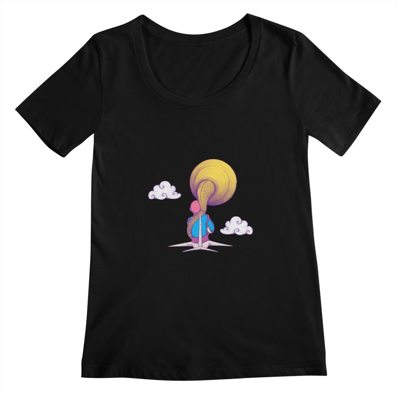 The Extraterrestrial Triumph Women's Scoopneck by Ranggasme's Artist Shop