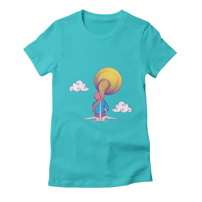 The Extraterrestrial Triumph Women's Fitted T-Shirt by Ranggasme's Artist Shop