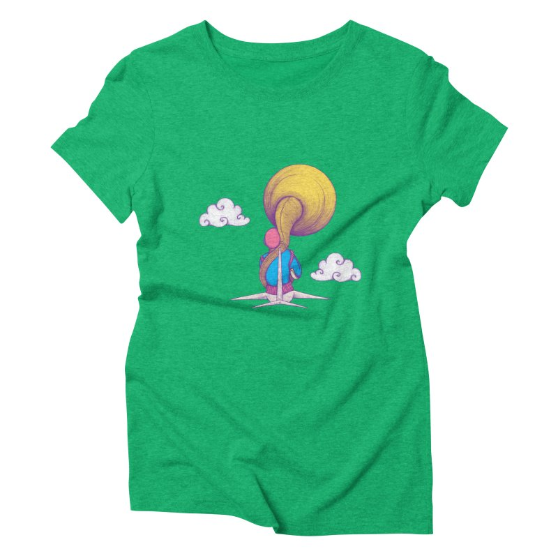 The Extraterrestrial Triumph Women's Triblend T-Shirt by Ranggasme's Artist Shop