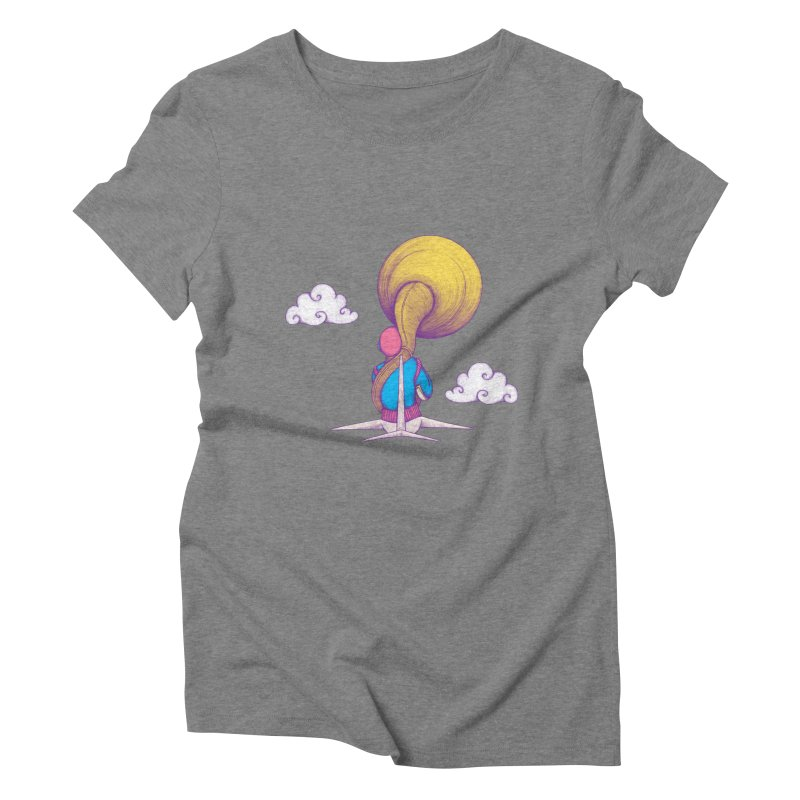 The Extraterrestrial Triumph Women's Triblend T-shirt by Ranggasme's Artist Shop