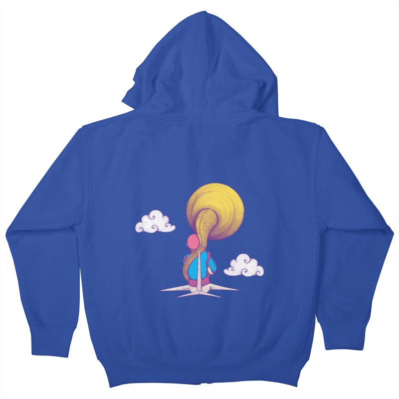 The Extraterrestrial Triumph Kids Zip-Up Hoody by Ranggasme's Artist Shop