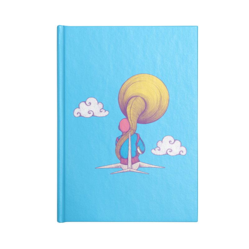 The Extraterrestrial Triumph Accessories Notebook by Ranggasme's Artist Shop