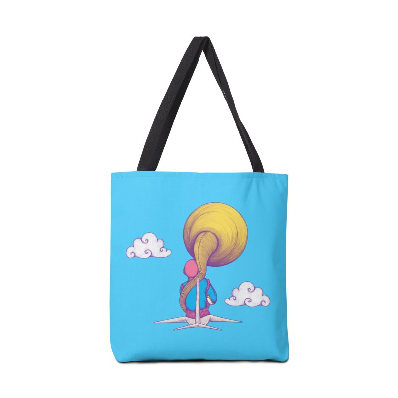 The Extraterrestrial Triumph Accessories Bag by Ranggasme's Artist Shop