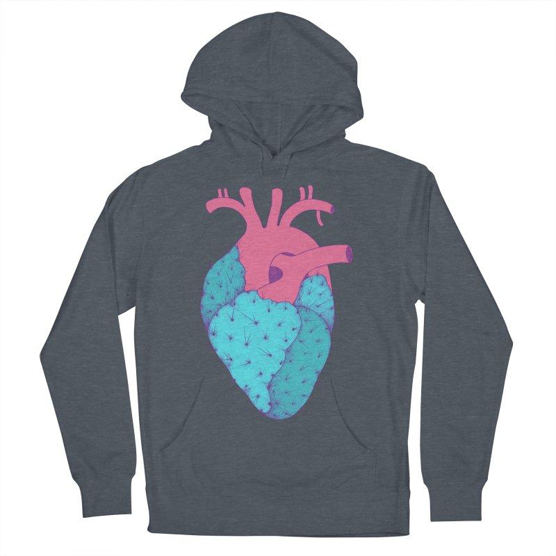 Cactus Heart Men's Pullover Hoody by Ranggasme's Artist Shop
