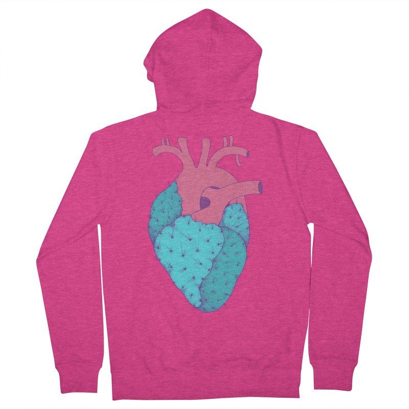Cactus Heart Women's Zip-Up Hoody by Ranggasme's Artist Shop