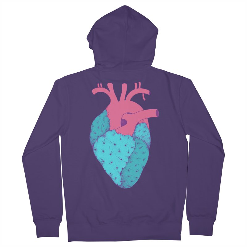 Cactus Heart Women's Zip-Up Hoody by Ranggasme's Artist Shop