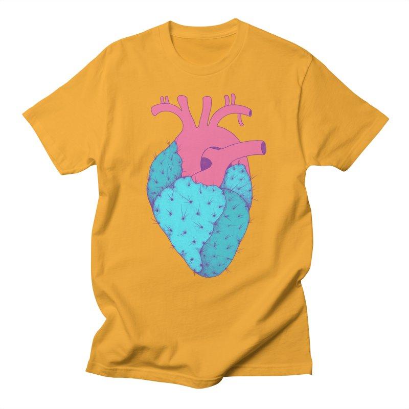 Cactus Heart Men's T-shirt by Ranggasme's Artist Shop