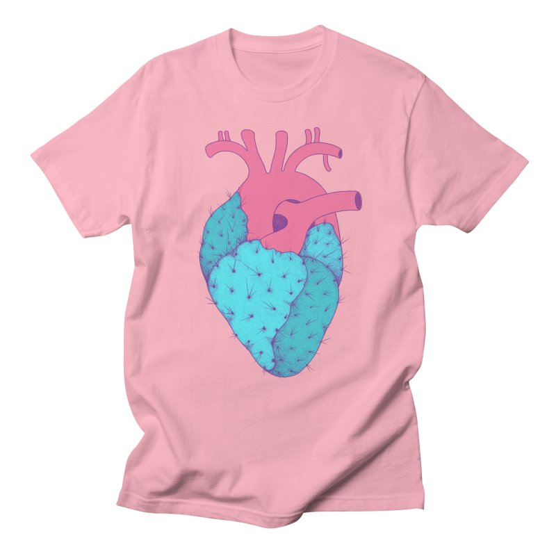 Cactus Heart Women's Unisex T-Shirt by Ranggasme's Artist Shop