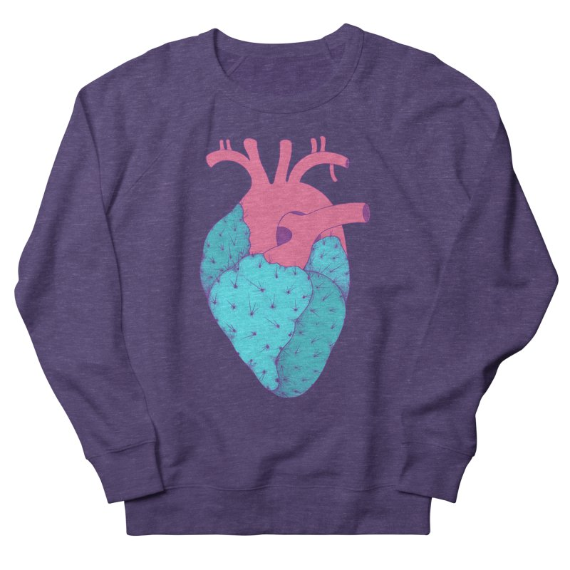 Cactus Heart Women's Sweatshirt by Ranggasme's Artist Shop