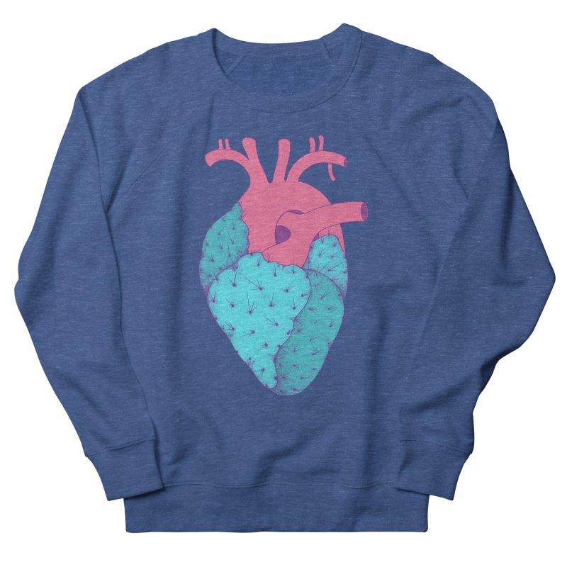 Cactus Heart Men's Sweatshirt by Ranggasme's Artist Shop