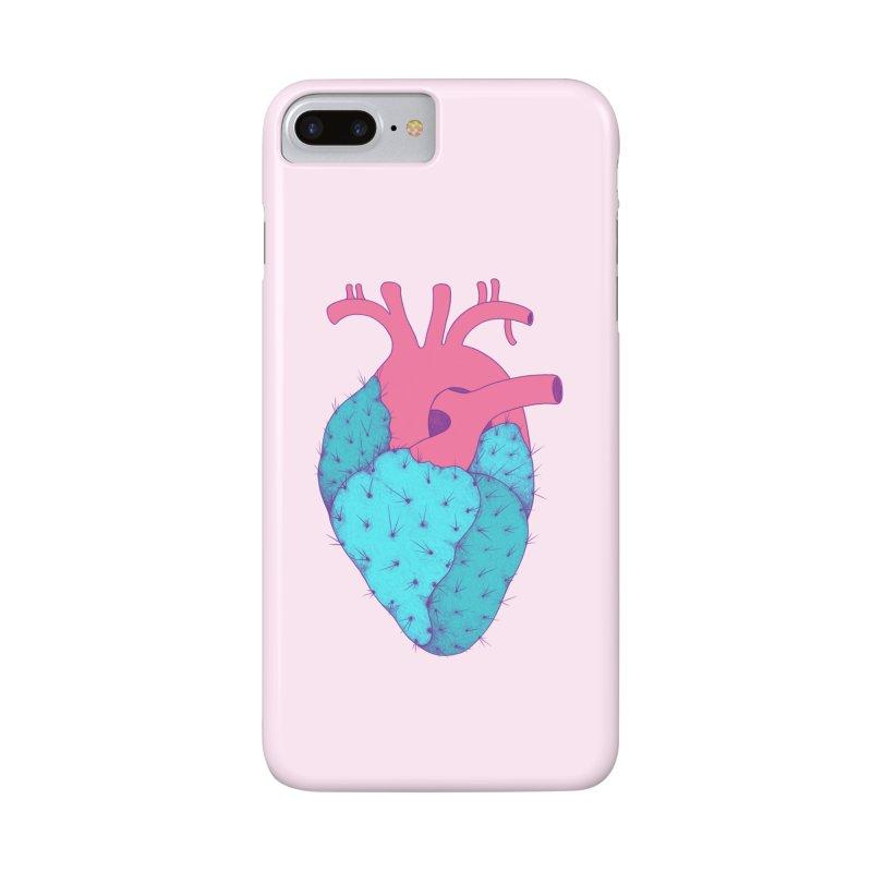 Cactus Heart Accessories Phone Case by Ranggasme's Artist Shop