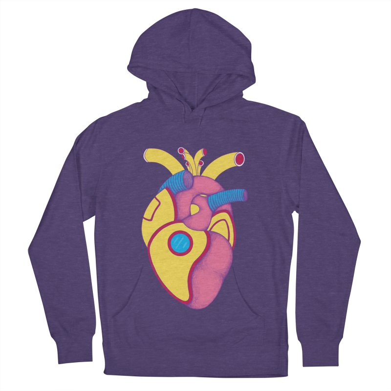 Yellow Submarine Heart Men's Pullover Hoody by Ranggasme's Artist Shop