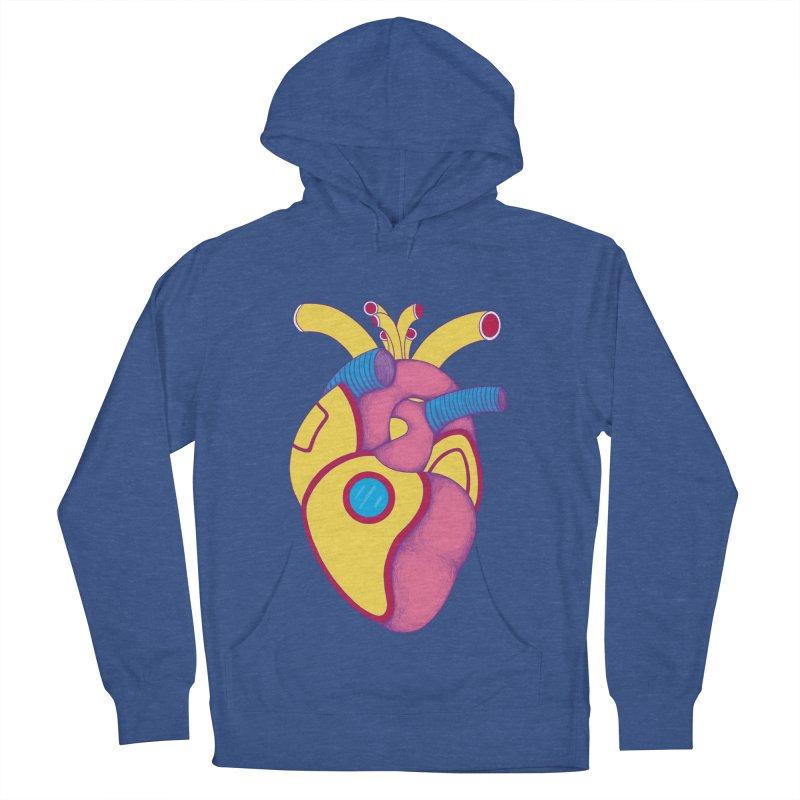 Yellow Submarine Heart Men's Pullover Hoody by Ranggasme's Artist Shop