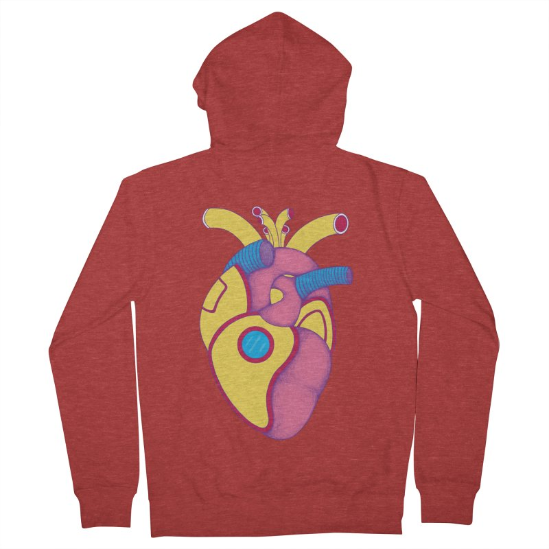 Yellow Submarine Heart Women's Zip-Up Hoody by Ranggasme's Artist Shop