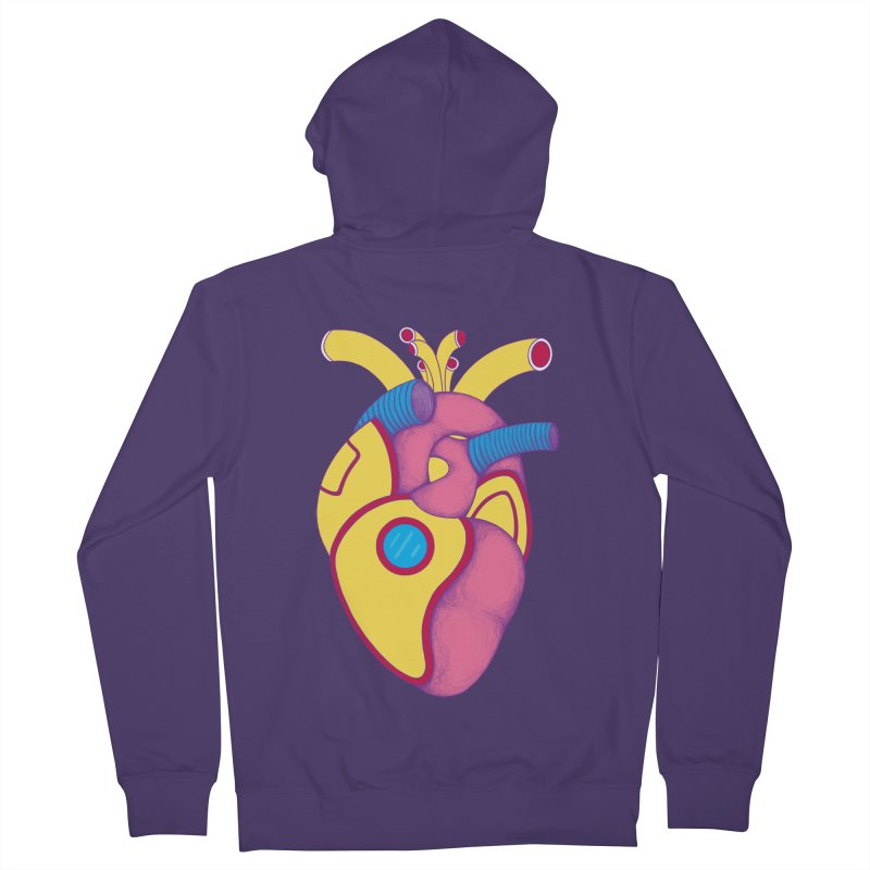 Yellow Submarine Heart Women's Zip-Up Hoody by Ranggasme's Artist Shop