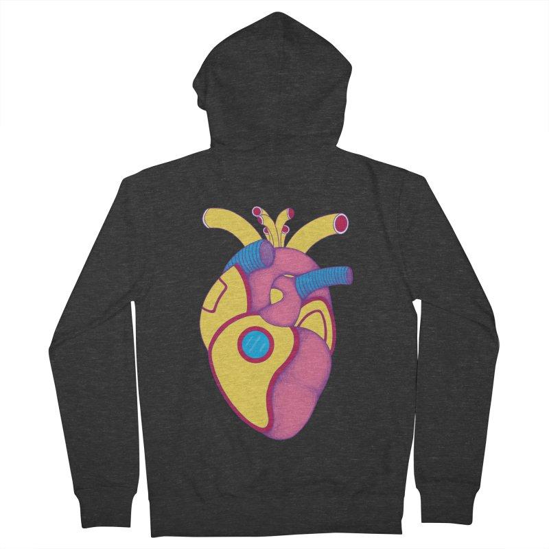 Yellow Submarine Heart Men's Zip-Up Hoody by Ranggasme's Artist Shop