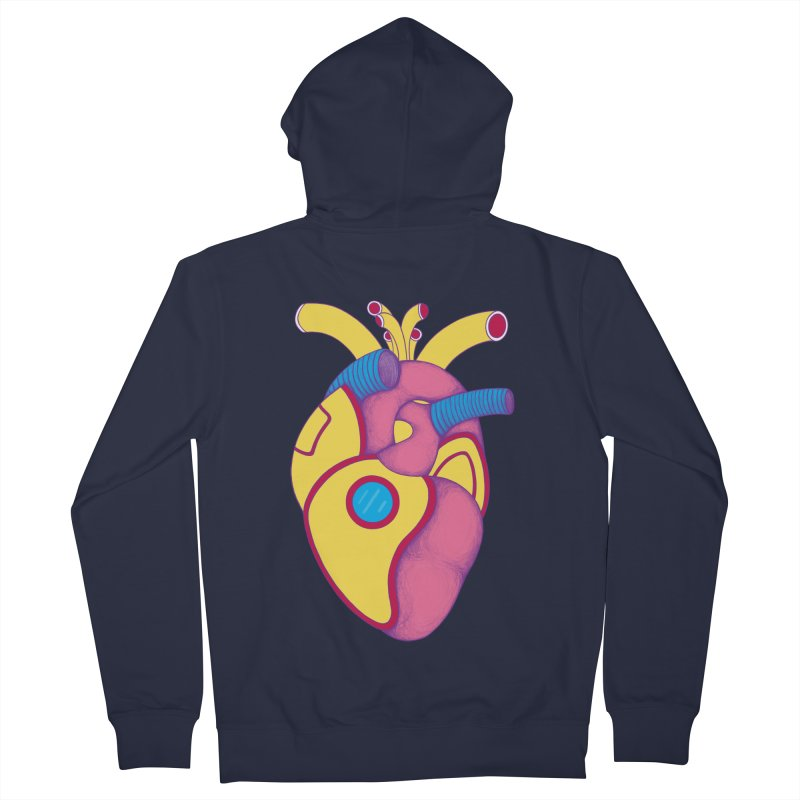 Yellow Submarine Heart Men's Zip-Up Hoody by Ranggasme's Artist Shop