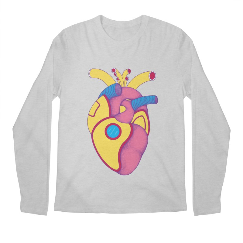 Yellow Submarine Heart Men's Longsleeve T-Shirt by Ranggasme's Artist Shop