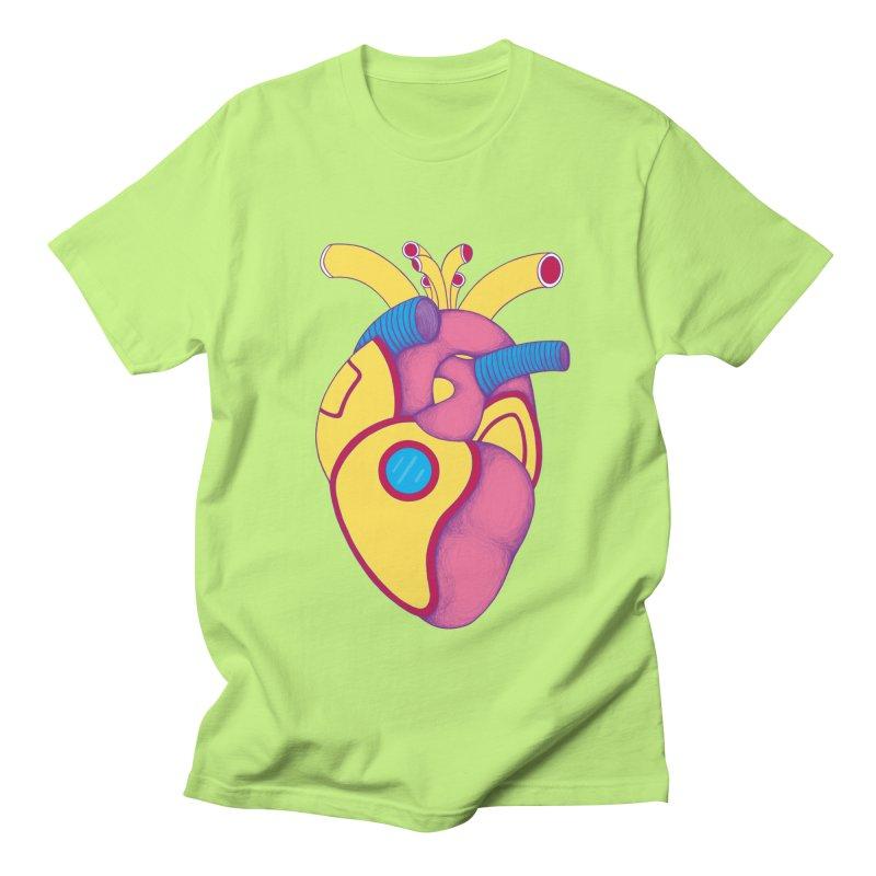 Yellow Submarine Heart Men's T-shirt by Ranggasme's Artist Shop