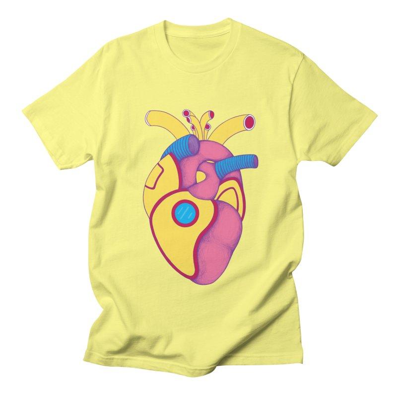 Yellow Submarine Heart Women's Unisex T-Shirt by Ranggasme's Artist Shop