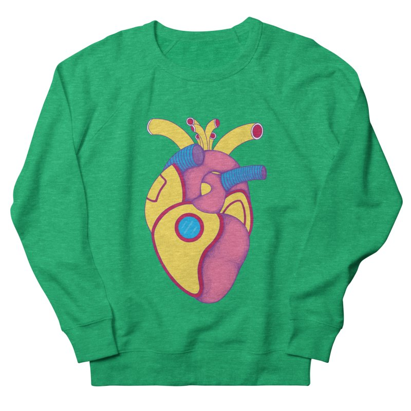 Yellow Submarine Heart Women's Sweatshirt by Ranggasme's Artist Shop