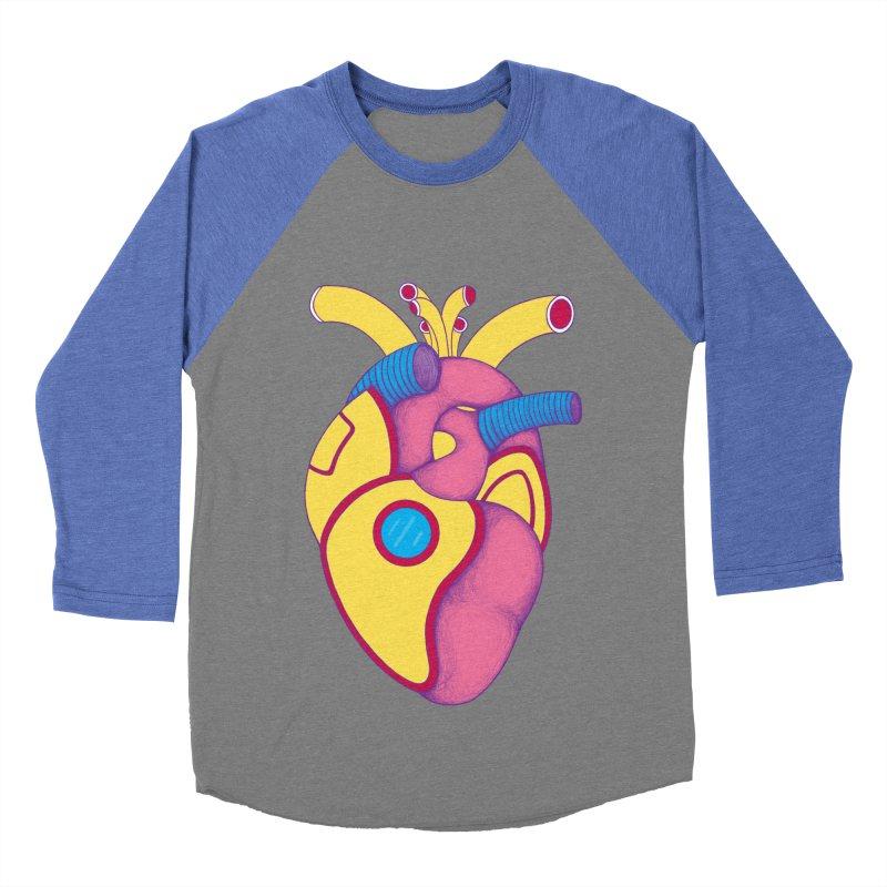 Yellow Submarine Heart Women's Baseball Triblend T-Shirt by Ranggasme's Artist Shop