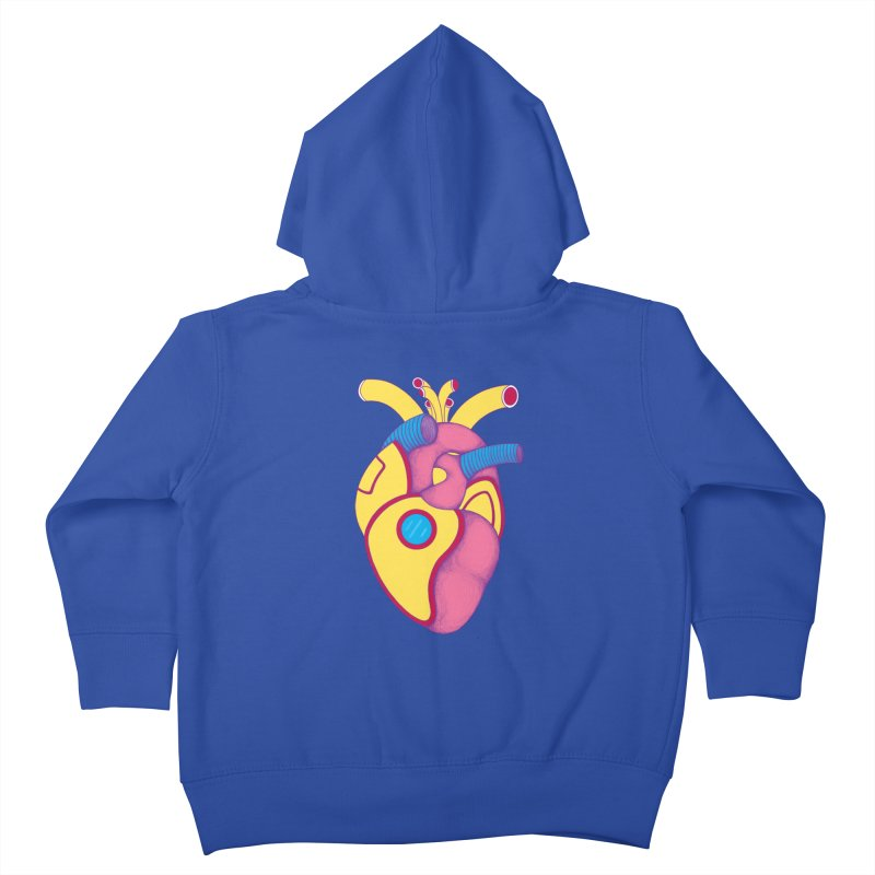 Yellow Submarine Heart Kids Toddler Zip-Up Hoody by Ranggasme's Artist Shop
