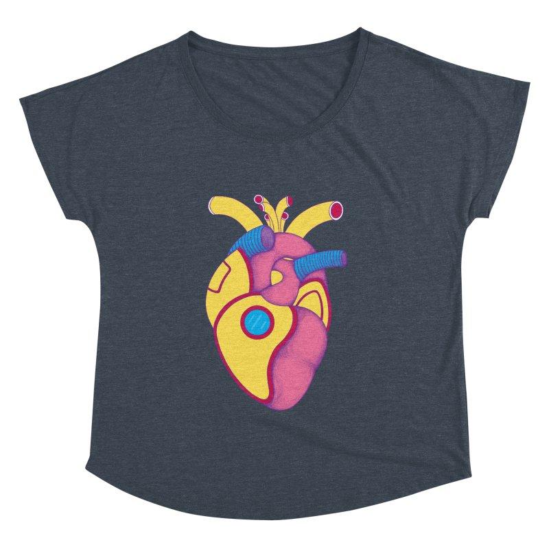 Yellow Submarine Heart Women's Dolman by Ranggasme's Artist Shop
