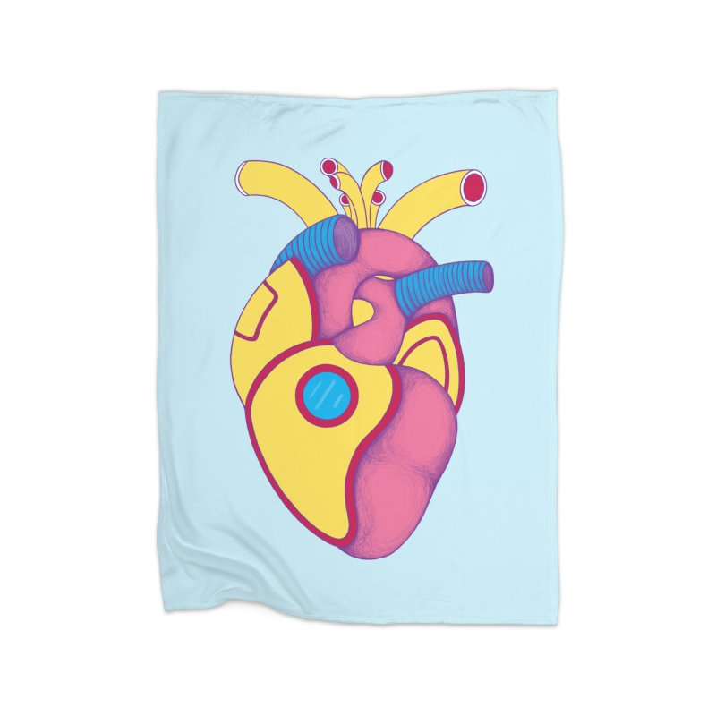 Yellow Submarine Heart Home Blanket by Ranggasme's Artist Shop