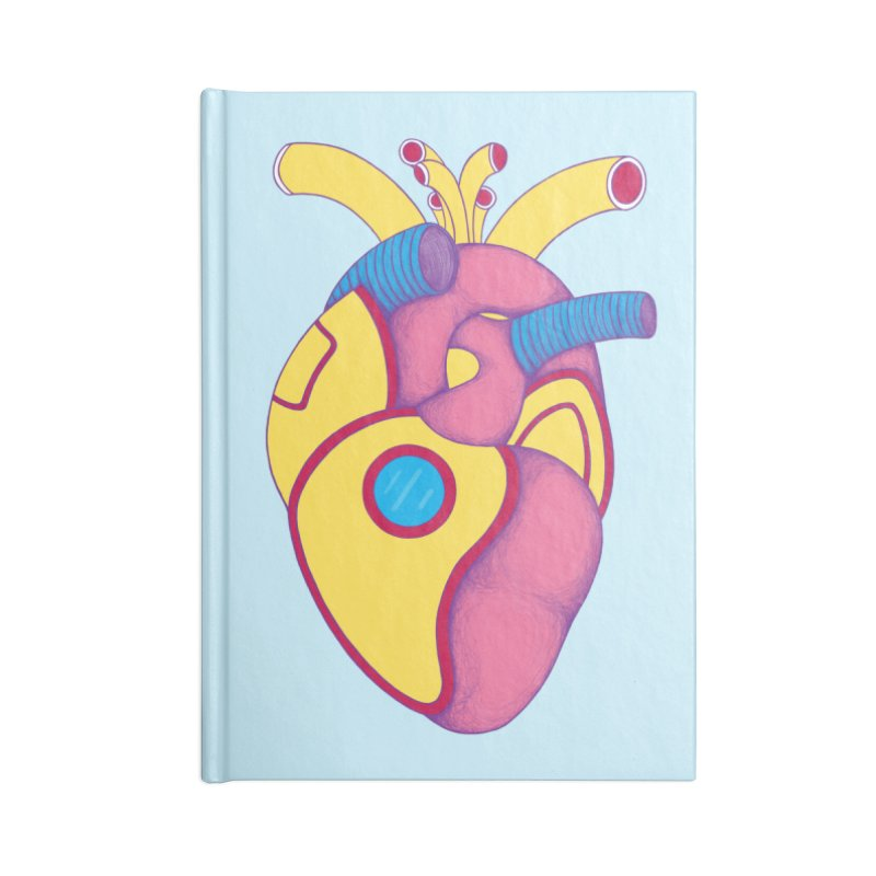 Yellow Submarine Heart Accessories Notebook by Ranggasme's Artist Shop