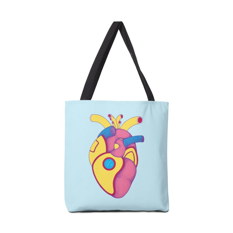 Yellow Submarine Heart Accessories Bag by Ranggasme's Artist Shop