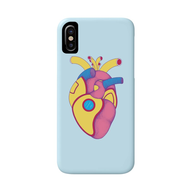 Yellow Submarine Heart Accessories Phone Case by Ranggasme's Artist Shop