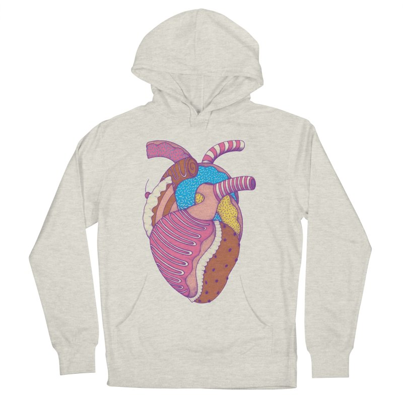 Sweet Heart Women's Pullover Hoody by Ranggasme's Artist Shop
