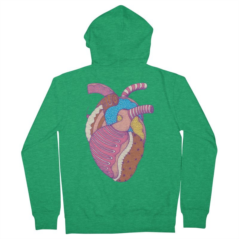 Sweet Heart Women's Zip-Up Hoody by Ranggasme's Artist Shop