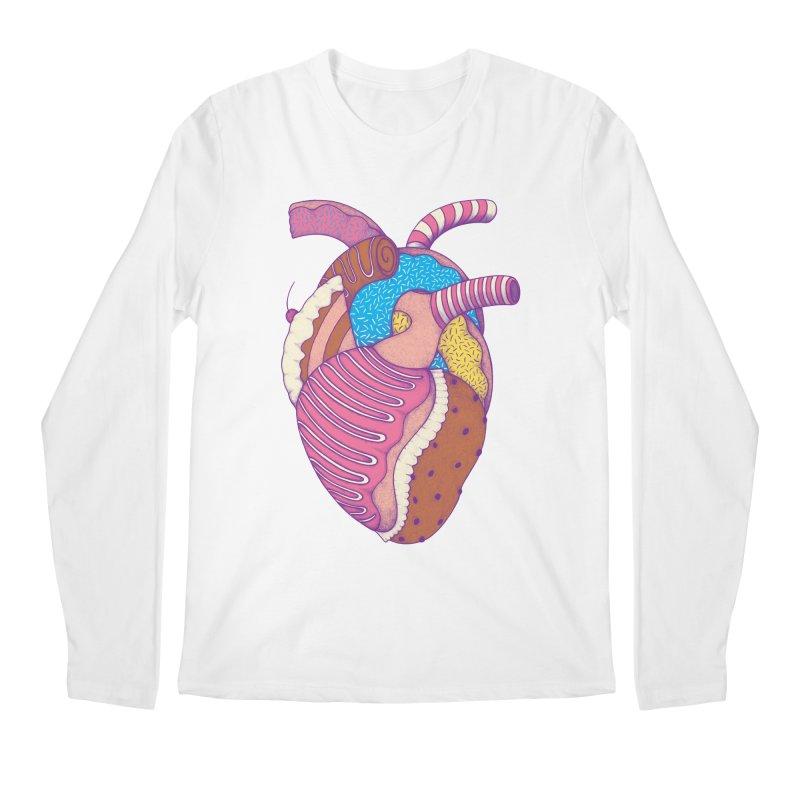 Sweet Heart Men's Longsleeve T-Shirt by Ranggasme's Artist Shop