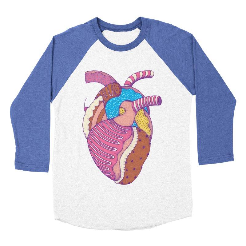 Sweet Heart Women's Baseball Triblend T-Shirt by Ranggasme's Artist Shop