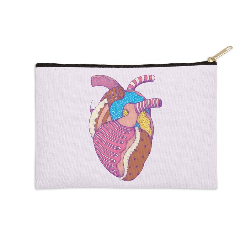 Sweet Heart Accessories Zip Pouch by Ranggasme's Artist Shop