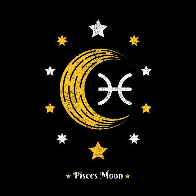 Pisces Moon - Astrology Zodiac Sign - Natal Chart Horoscope Star Tarot Men's T-Shirt by Ranggasme's Artist Shop