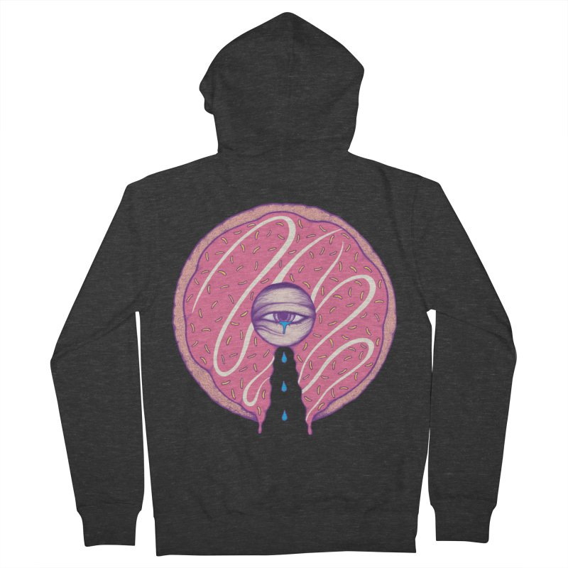Donut Cry Men's Zip-Up Hoody by Ranggasme's Artist Shop